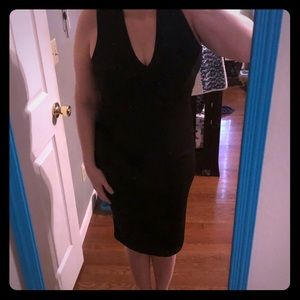Dresses & Skirts - Black Dress with Cut Out